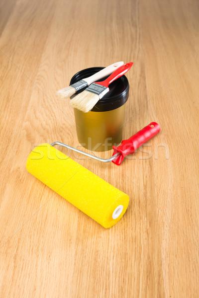 Painting equipment Stock photo © stokkete
