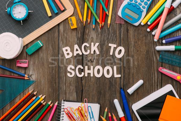 Back to school Stock photo © stokkete