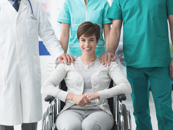 Disability and healthcare Stock photo © stokkete