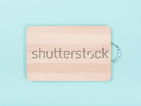 Wooden chopping board Stock photo © stokkete