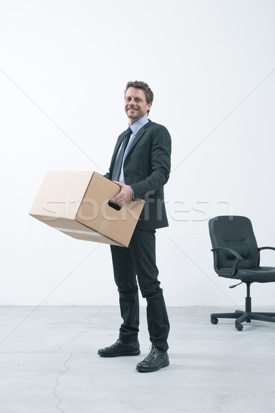 Moving into a new office Stock photo © stokkete