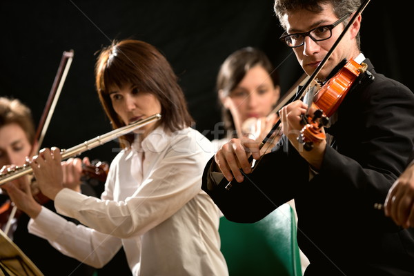 Classical music performers Stock photo © stokkete