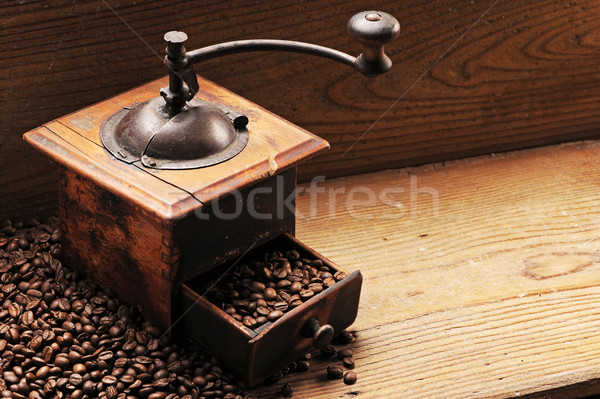 Roasted coffee beans Stock photo © stokkete