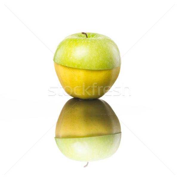 Jugoso amarillo verde manzanas manzana Foto stock © stokkete