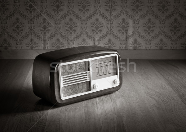 Old fashioned radio Stock photo © stokkete