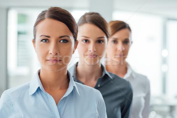 Successful women entrepreneurs posing Stock photo © stokkete