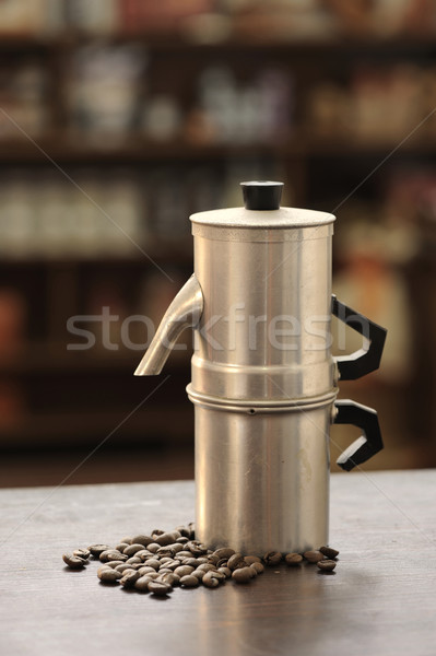 old coffee maker Stock photo © stokkete