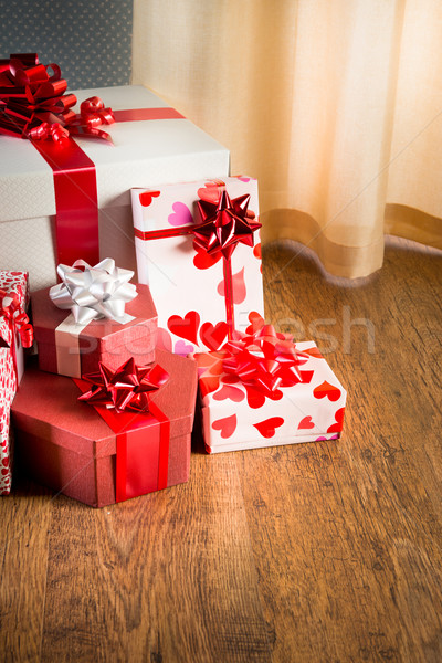 Plenty of gifts Stock photo © stokkete