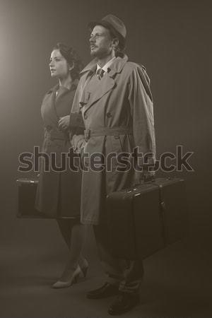 Film noir scene Stock photo © stokkete