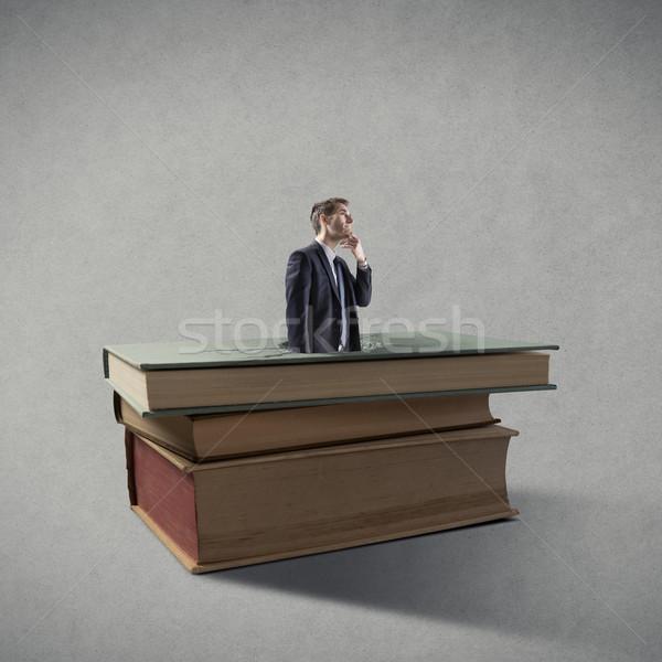 Breakthrough businessman Stock photo © stokkete