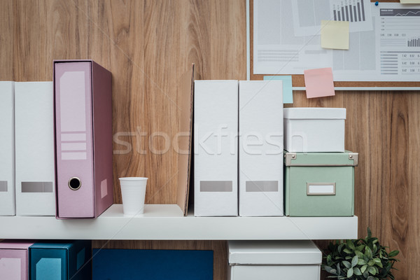 Office archive Stock photo © stokkete