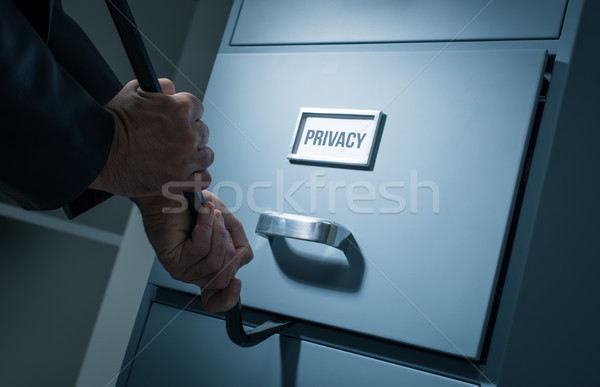 Data theft and security Stock photo © stokkete