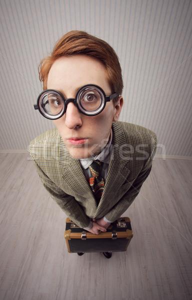 Salesman vintage Stock photo © stokkete