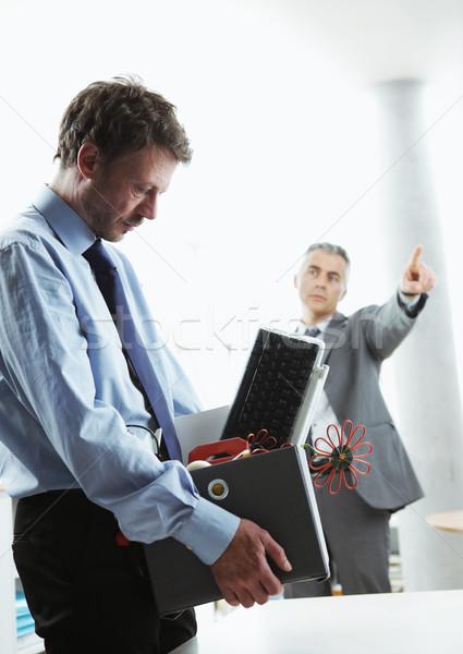 Fired Office Worker Stock photo © stokkete