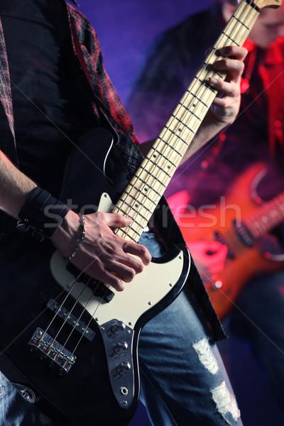 ライブ 岩 ミュージシャン 演奏 コンサート 音楽 ストックフォト © stokkete