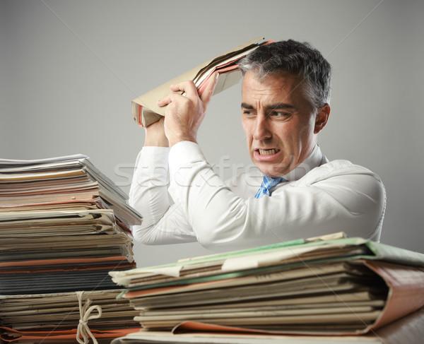 Overwork Stock photo © stokkete