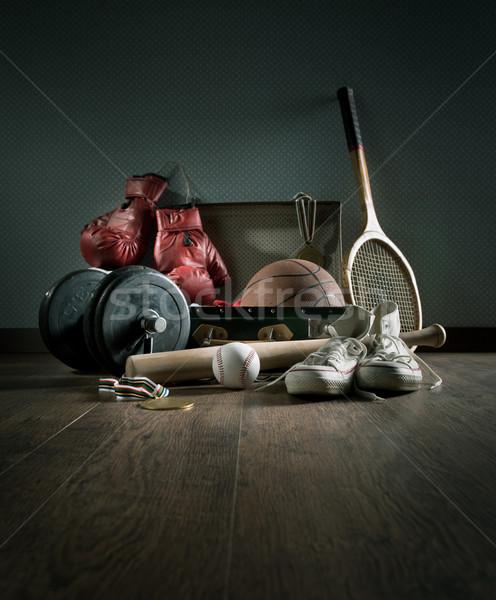 Teenager sports equipment Stock photo © stokkete