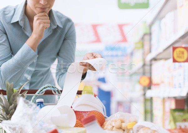 Expensive grocery Stock photo © stokkete