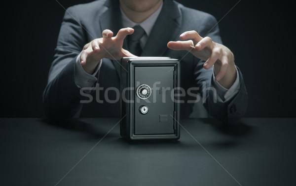 泥棒 手 男 金融 犯罪 経済 ストックフォト © stokkete