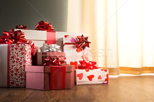 Plenty of gifts Stock photo © stokkete
