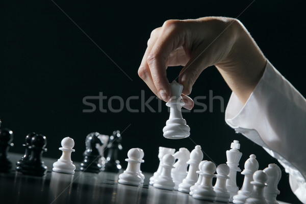Chess Stock photo © stokkete
