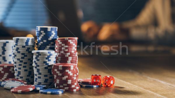 Online casino games Stock photo © stokkete