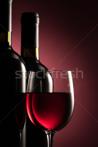 Red wine selection Stock photo © stokkete