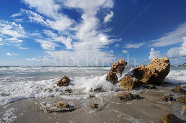 Sea and beach Stock photo © stokkete
