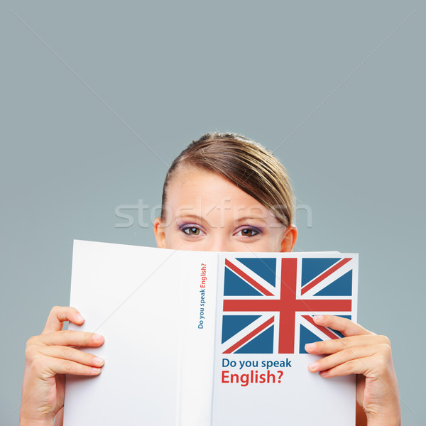 English female student Stock photo © stokkete