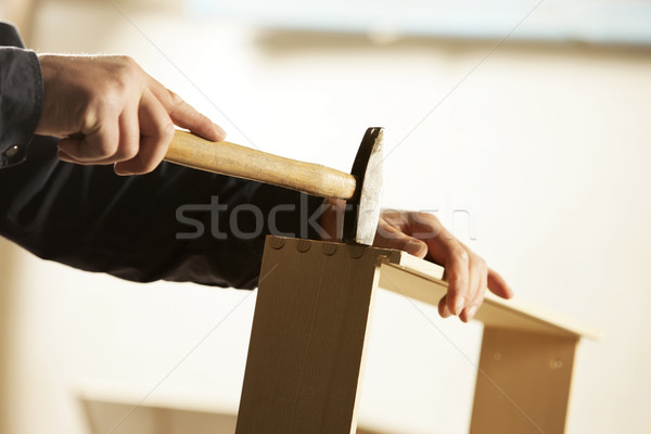 Carpenter at work Stock photo © stokkete