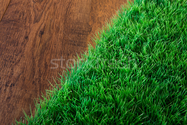 Artificial turf close-up Stock photo © stokkete