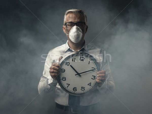 Alarming air pollution Stock photo © stokkete