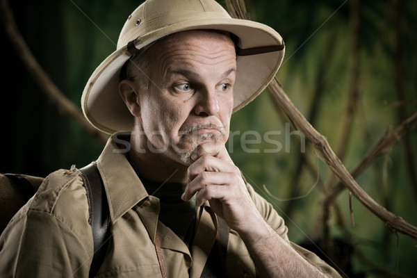 Explorer dealing with dilemma Stock photo © stokkete