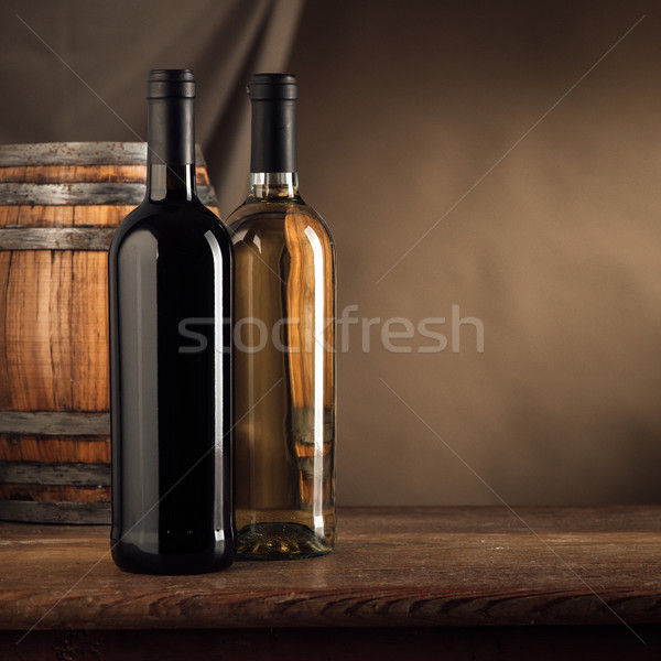 Wine making still life Stock photo © stokkete
