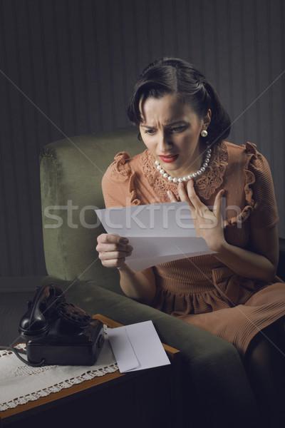 Сток-фото: чтение · письме · женщину · жизни