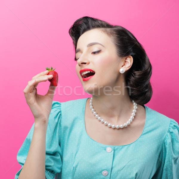 Sensual woman  Stock photo © stokkete