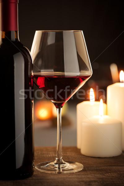 бутылку натюрморт стекла Сток-фото © stokkete