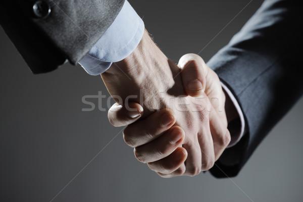 бизнеса дело два деловых людей рукопожатием Сток-фото © stokkete