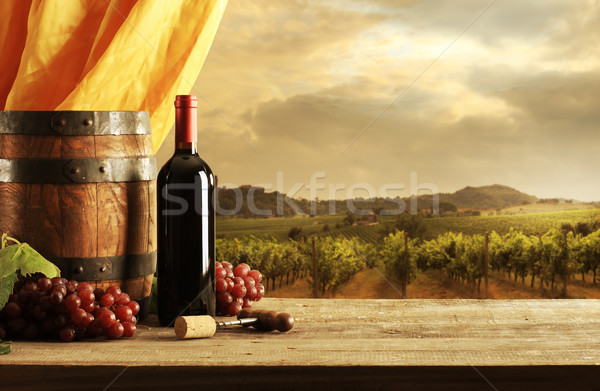Red Wine Stock photo © stokkete
