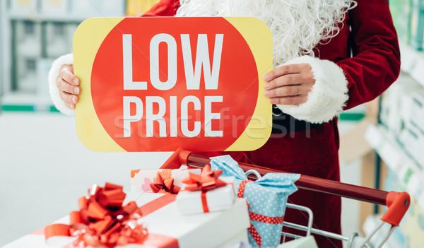Christmas discounts Stock photo © stokkete