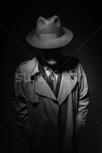 Noir movie character Stock photo © stokkete