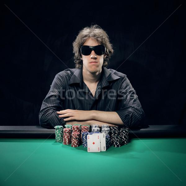 Texas Hold'em poker: the winner Stock photo © stokkete