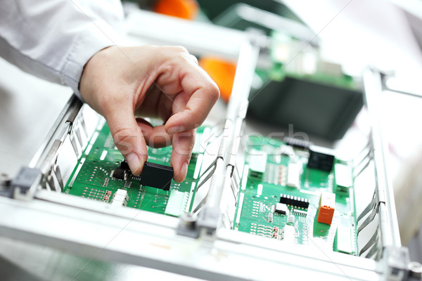 Electronic component assembly Stock photo © stokkete