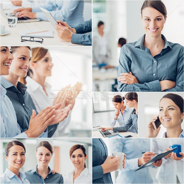 Business women team  Stock photo © stokkete