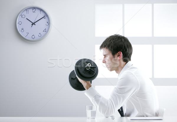Strong business man Stock photo © stokkete