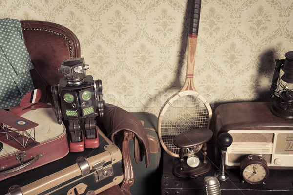 Attic vintage treasures Stock photo © stokkete