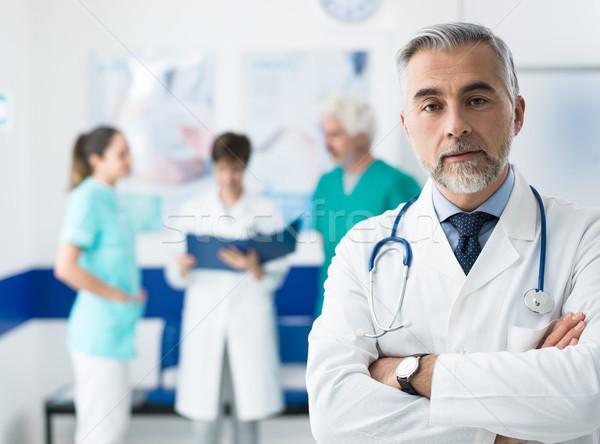 Foto d'archivio: Professionali · medici · personale · squadra · lavoro · ospedale