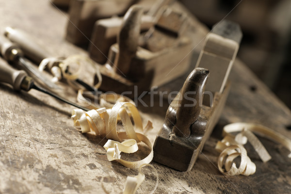 Woodworking Stock photo © stokkete