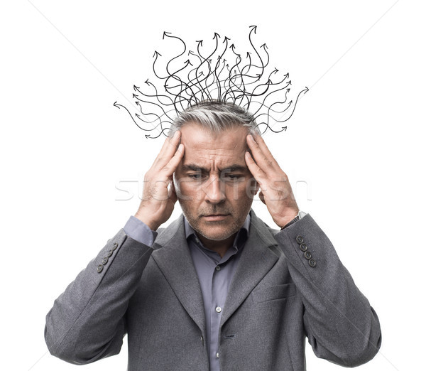 Brain power and business Stock photo © stokkete