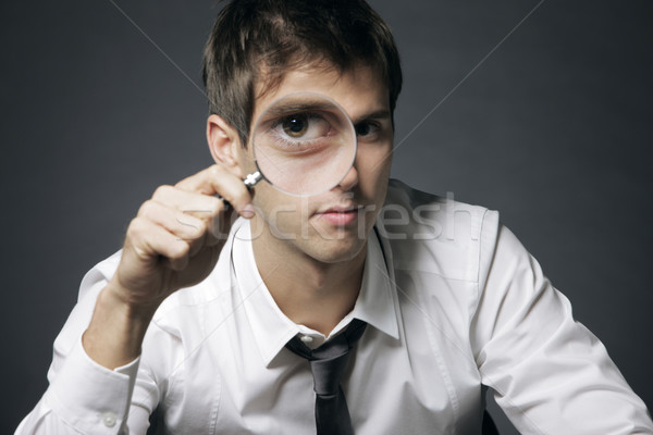Analyze the business Stock photo © stokkete